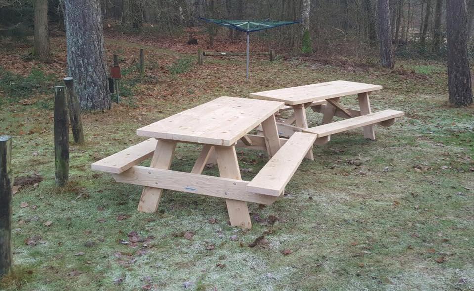 Eichenholz-Picknicktisch kaufen