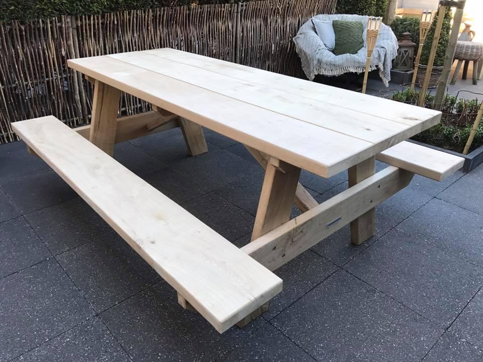 Picknicktisch Eichenholz