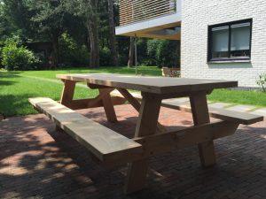 Picknicktisch aus Eichenholz