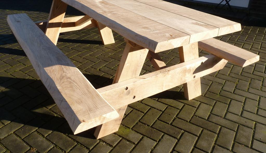 baumstamm Picknicktisch online kaufen
